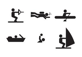 Water Sports Icons