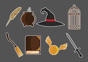 Hogwarts Vector Pack