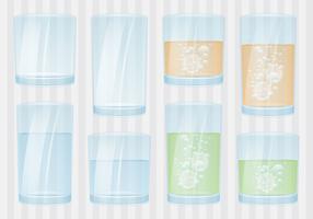 Glasses With Liquid