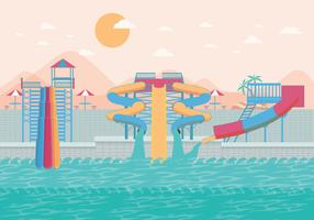 Water Slide Big Vector