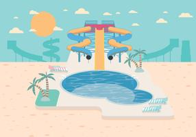 Water Slide Vector