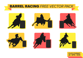 Barrel Racing Free Vector Pack Vol. 2