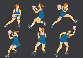 Free Netball Icons Vector