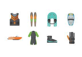Free Water Ski Icons