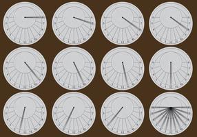 Circular Sun Dials