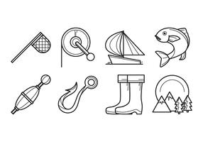 Free Fishing Icon Vector