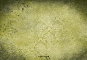 Green Vintage Grunge Background