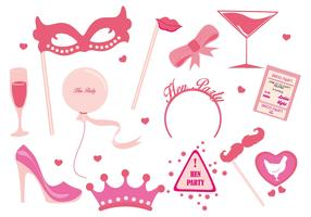 Free Hen Party Ladies Night Party Vector