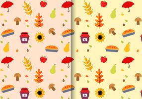 Free Thanksgiving Pattern Vector