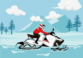 Snow Mobile Free Vector
