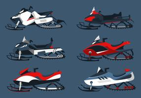 Snowmobile Free Vector