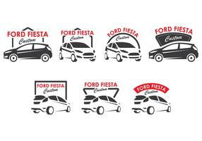 Ford Fiesta Logo Collection