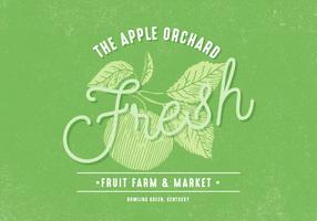Retro Apple Orchard Design