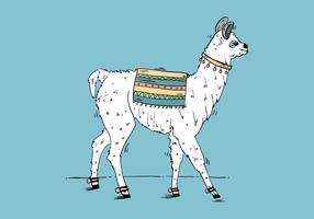 Free Llama Background