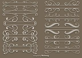 Elegant Dividers Vector Set
