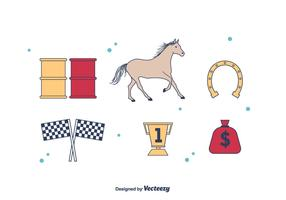 Barrel Racing Icons