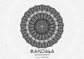 Free Hand Drawn Vector Mandala
