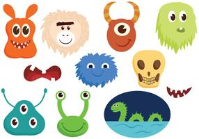 Free Monsters Vectors