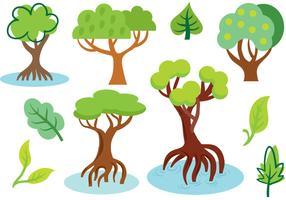 Free Mangrove Vectors