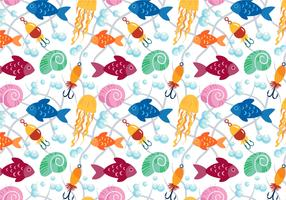 Free Fish Pattern Vectors