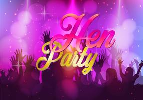Hen Party Illustration
