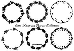 Cute Hand Drawn Christmas Frames