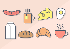 Free Breakfast Food Vector