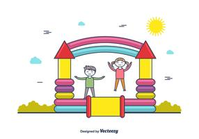Bounce House Vector
