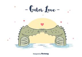 Gator Love Background