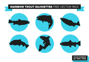 Rainbow Trout Free Vector Pack