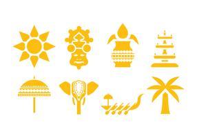 Onam Vector Icons