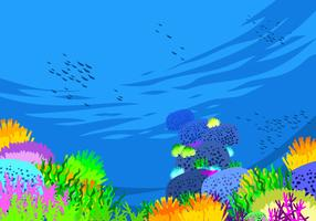 Seabed Free Vector