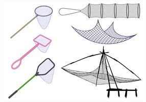 Fishing Net Free Vector