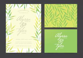 Vector Wedding Invite