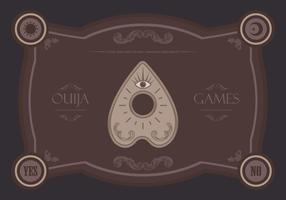 Ouija Magic Games Illustration