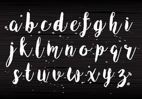Handwriting Lowercase