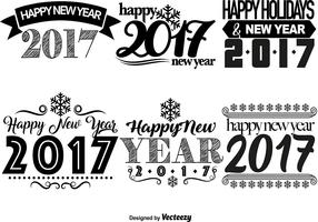 2017 Happy New Year Templates