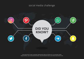 Trivia Social Media Illustration