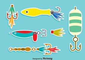 Nice Fishing Lure Vector Set