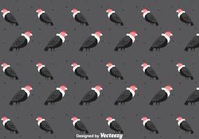 Condor Bird Seamless Pattern