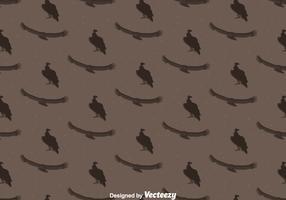 Condor Bird Seamless Pattern Background