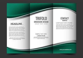 Free Vector Tri Fold Brochure