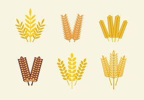 Oats vector pack