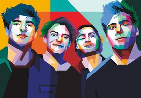 5 Second Of Summer Vector
