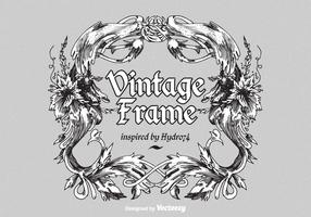 Free Vintage Ornate Vector Frame