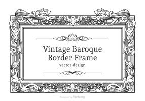 Free Vector Baroque Border Frame