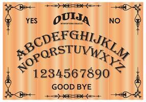 Free Ouija Board Vector Illustration