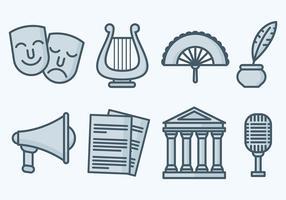Free Teatro Icons Vector