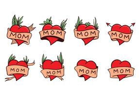 Free Mom Tattoo Vector
