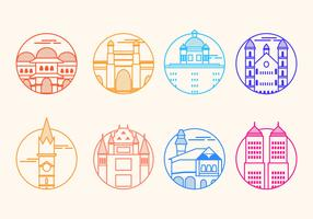 Free Mumbai Landmark Vector Icon